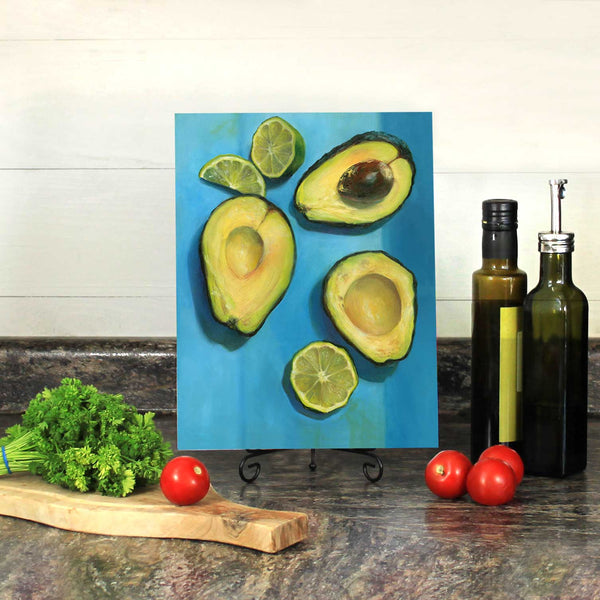 Southwest Splash : 9x12 inches - Galleria Fresco - food still life by Jo Bradney