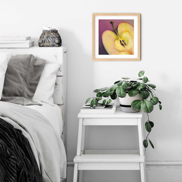 Apple Heart - Art Print - Galleria Fresco - food still life by Jo Bradney