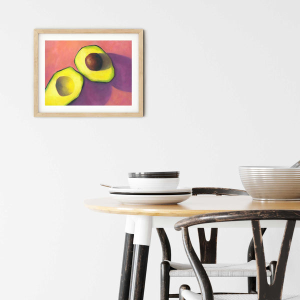 Afternoon Candy - Avocado Art Print - Galleria Fresco