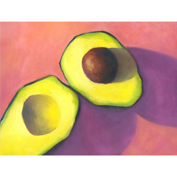 Afternoon Candy - Avocado Art Print - Galleria Fresco - food still life by Jo Bradney