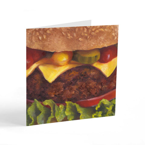 Smiley Burger - Note Cards - Galleria Fresco