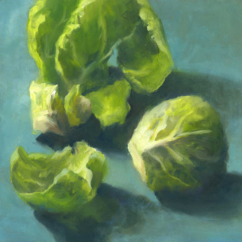 Brussels Sprout - Art Print