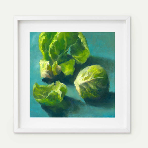 Brussels Sprout - Art Print - Galleria Fresco