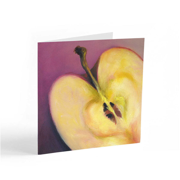 Apple Heart : Note Cards - Galleria Fresco - food still life by Jo Bradney