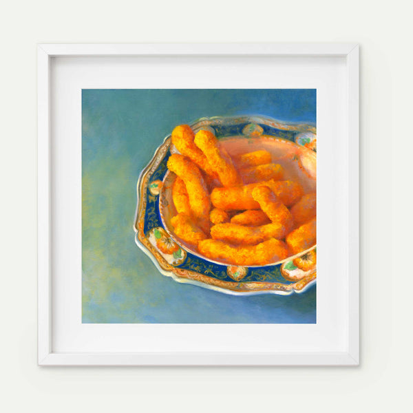 Just to Make them Smile ~ Something Quirky - Galleria Fresco - food still life by Jo Bradney