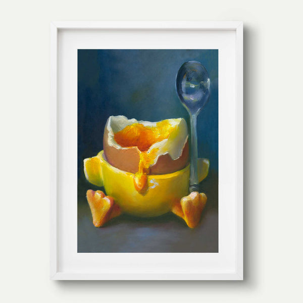Dipping Into the Nest Egg - Art Print - Galleria Fresco