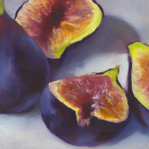 fig.5 - Art Print - Galleria Fresco - food still life by Jo Bradney