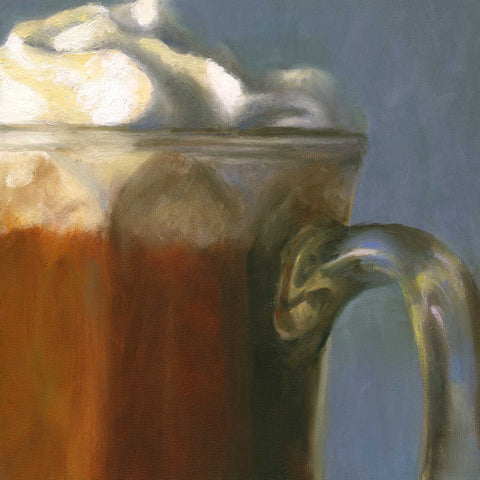 Winter's Splendor - Hot Chocolate Art Print - Galleria Fresco - food still life by Jo Bradney