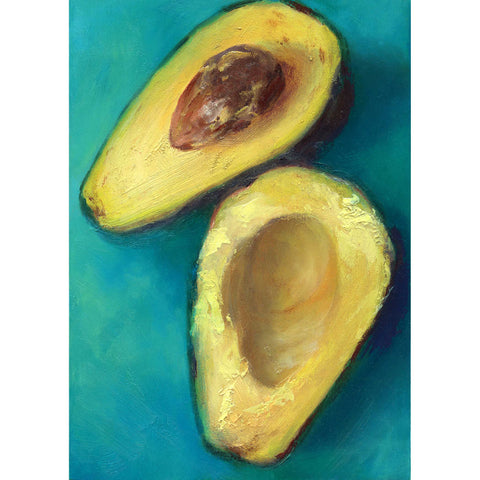 Copy of Avocado Twist : 5x7 inches - Galleria Fresco