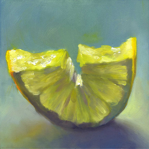 Just Add Ice - Lemon Art Print - Galleria Fresco