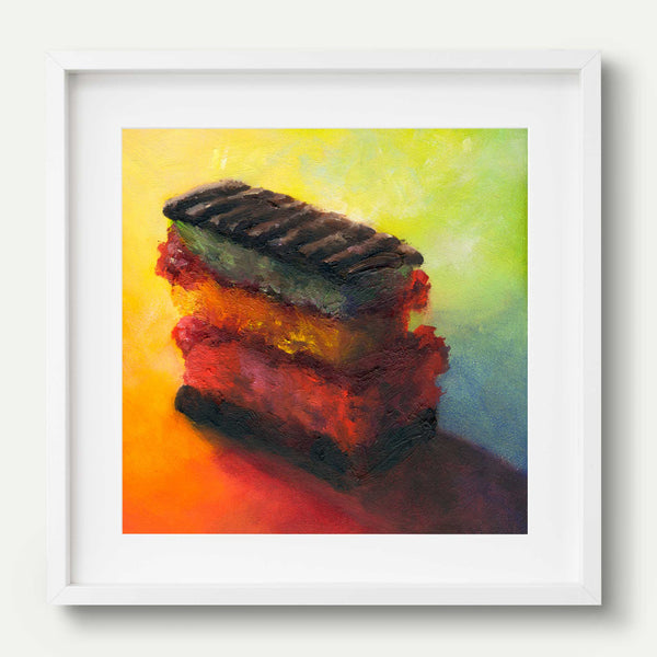 For a New York State of Mind - Galleria Fresco - food still life by Jo Bradney