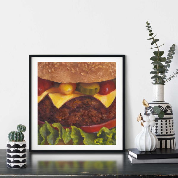 Gift for BBQ Master - Galleria Fresco - food still life by Jo Bradney