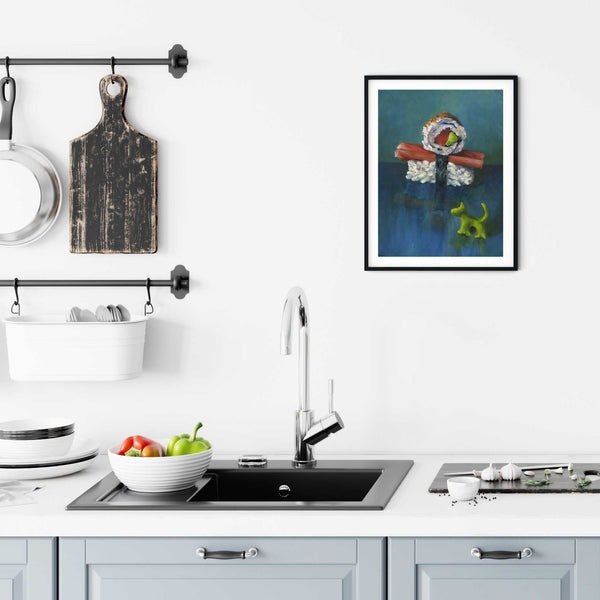 Sushi Boy & Wasabi Dog - Art Print - Galleria Fresco