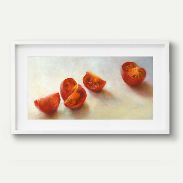 Tomatoes on the March - Art Print - Galleria Fresco