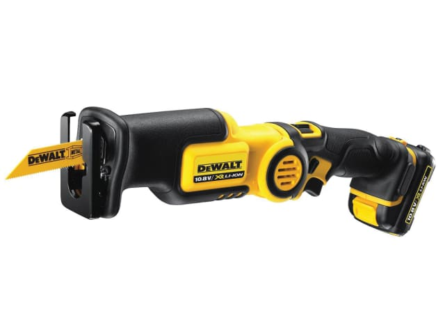 DeWalt DCS310D2 Cordless Pivot Reciprocating Saw 10.8V with 2 x 2.0Ah Li-Ion