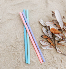 Load image into Gallery viewer, Reusable Silicone Drinking Straws - Wilfred Eco - Pastel Colours