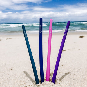 Silicone Drinking Straws - Wilfred Eco - Plastic Free