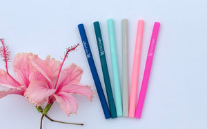 Silicone Cocktail Straws - Wilfred Eco