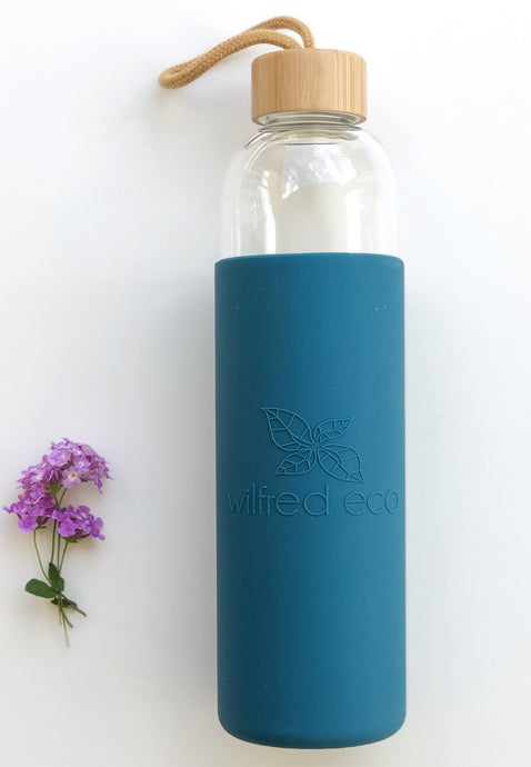 Borosilicate Glass Water Bottle - 1L - Wilfred Eco