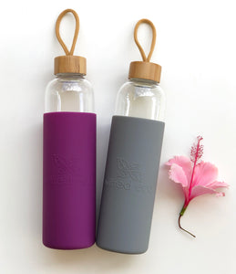 1L Glass Drinking Water Bottle Reusable Australia - Wilfred Eco
