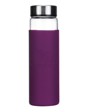 Load image into Gallery viewer, Borosilicate Glass Water Bottle with Stainless Lid- 650ml - Wilfred Eco