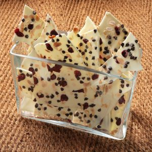 White Chocolate Cranberry Almond Bark (by pound)