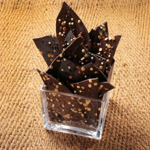 Salted Dark Chocolate Bark (by pound)