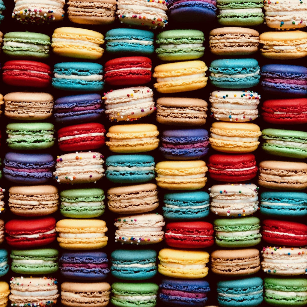 Tray of 50 Assorted Macarons