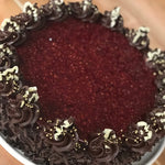 "10"" Chocolate Raspberry Truffle Cake"