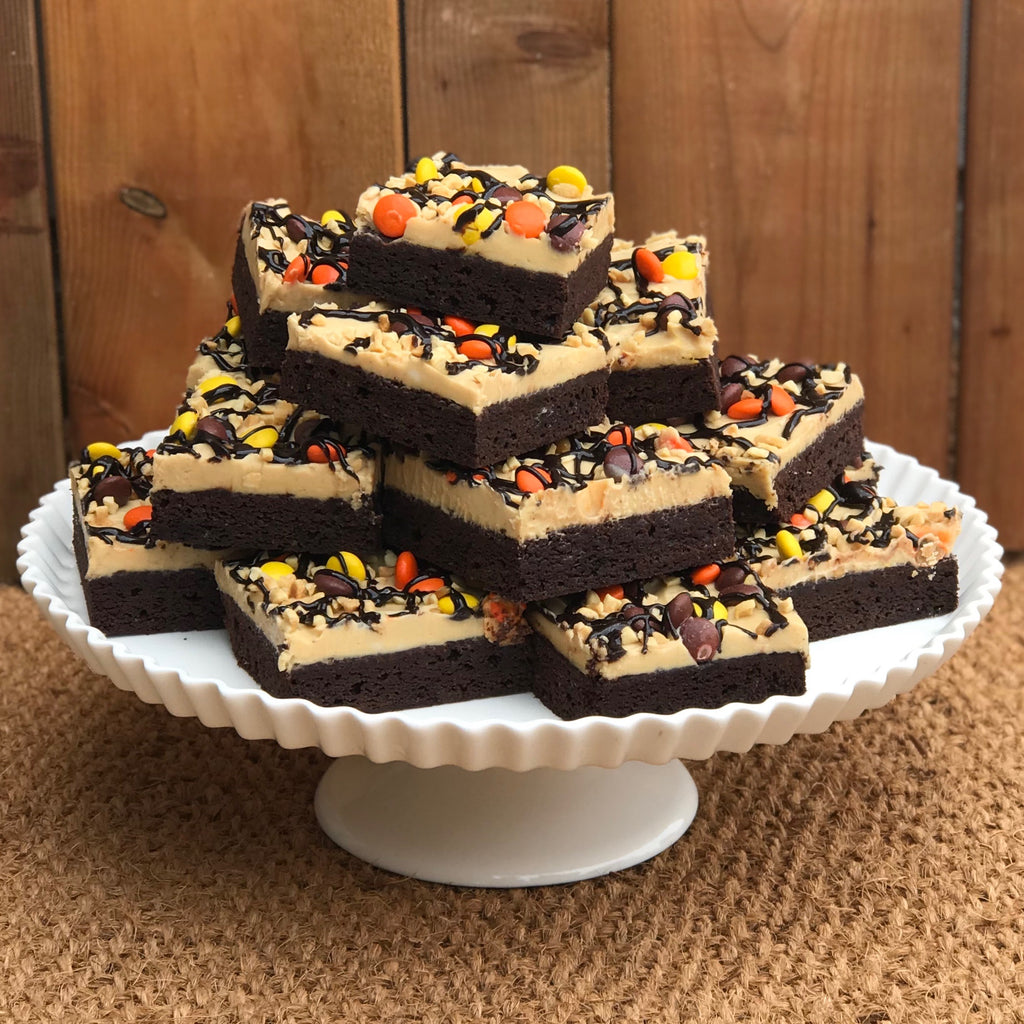 Gluten Free Reeces Pieces Square