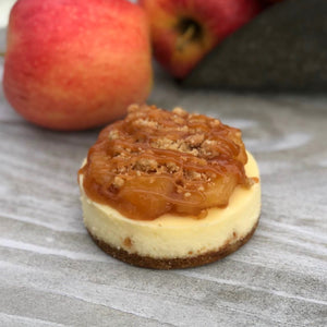 Apples 'n' Spice Cheesecake