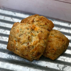 6 Large Cheddar and Onion Scones