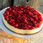 "10"" Cherry Cheesecake"