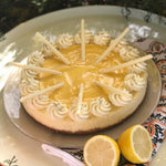 "10"" Lemon Curd Cheesecake"
