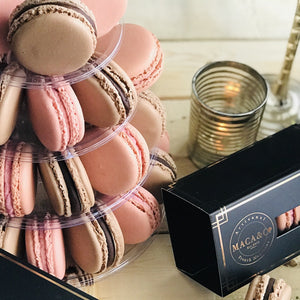 36 pc Tower of Macarons