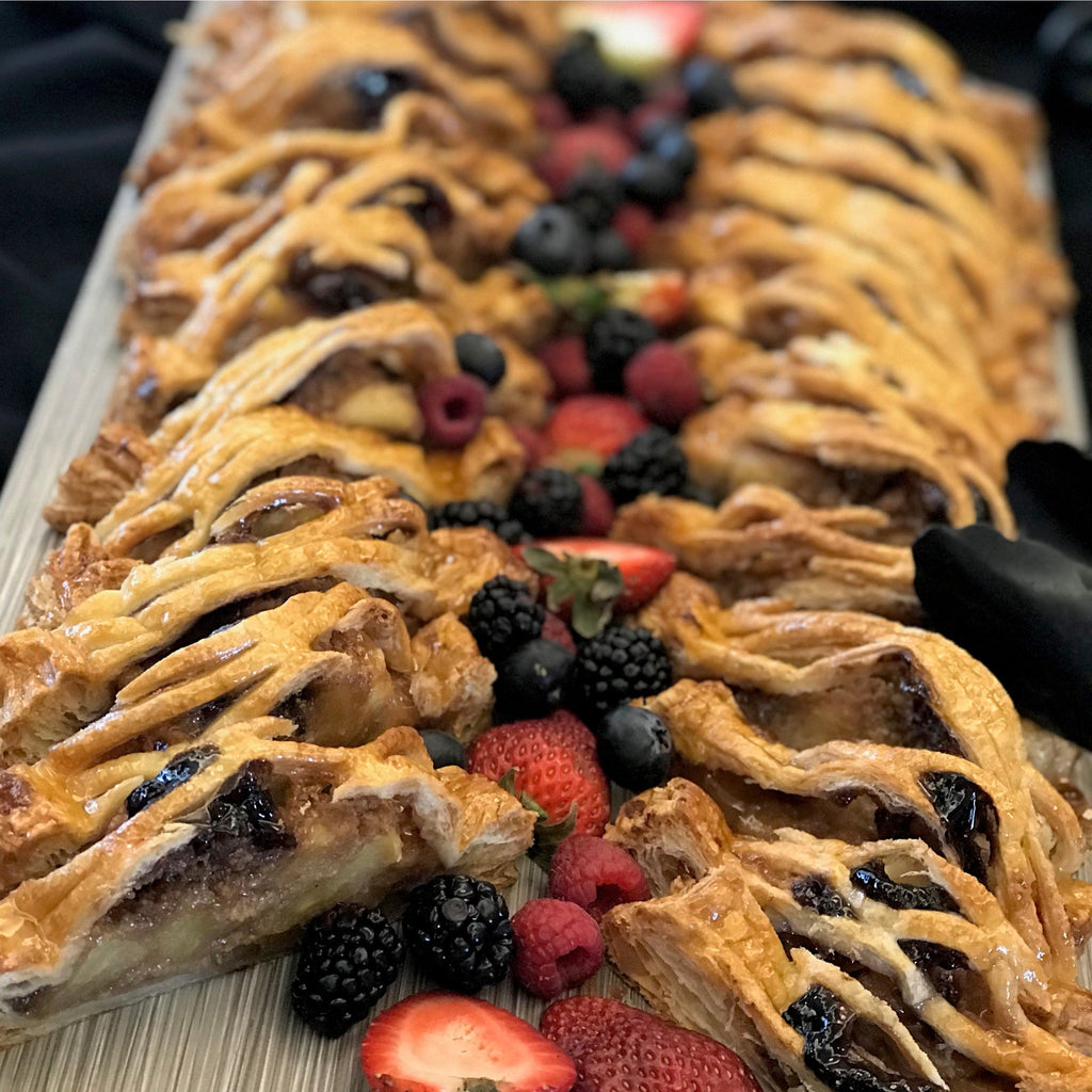 Apple Raspberry Strudel