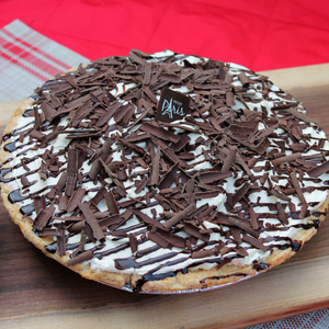 Vanilla Chocolate Pudding Pie