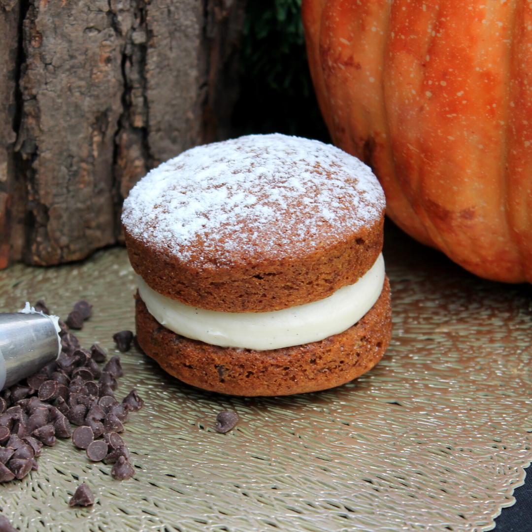 2 Pumpkin Chocolate Whoopie Pie