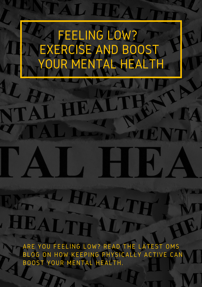 Feeling Low?  Exercise and Boost Your Mental Health