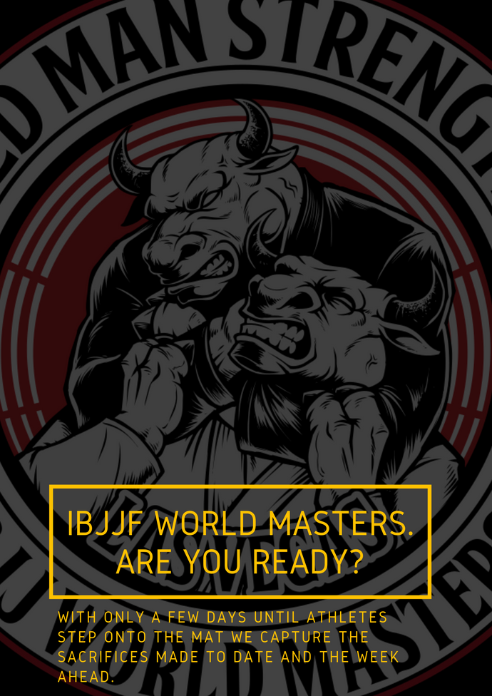IBJJF World Masters. Are you Ready?