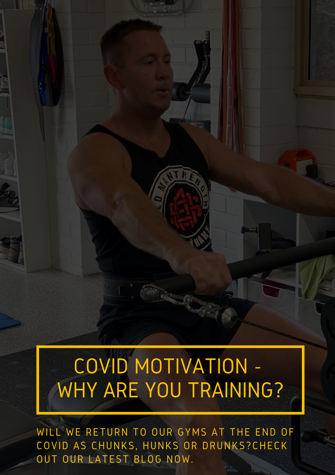 COVID Motivation - Why are you training?