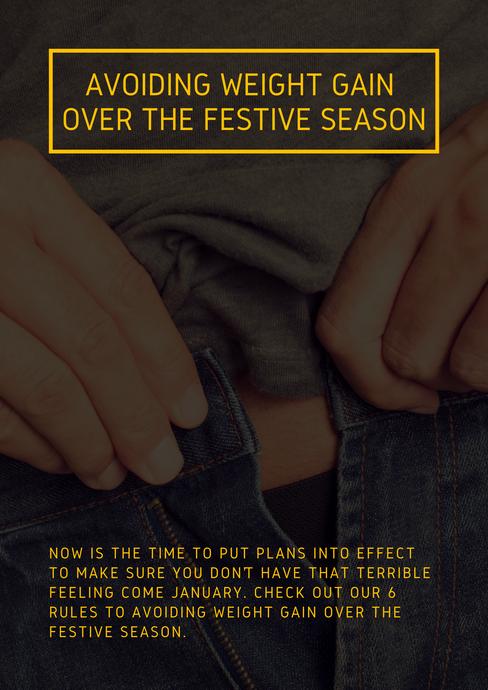 Avoiding weight gain over the festive season
