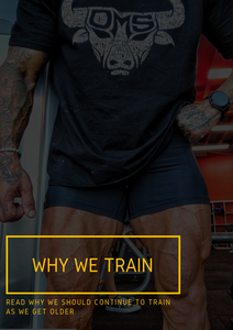 Why We Train.