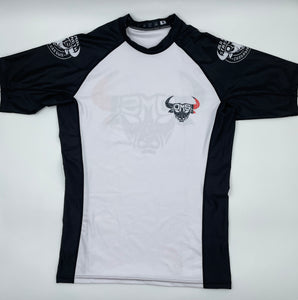 Brazilian Jiu Jitsu Ranked Rash Guard - Black Belt
