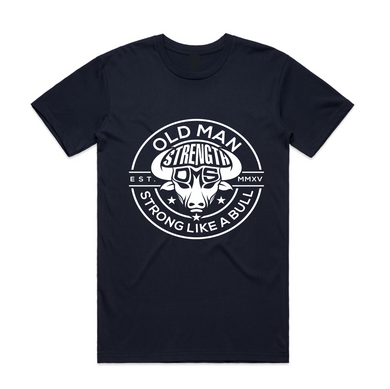 Old Man Strength T-shirt -The Stamp