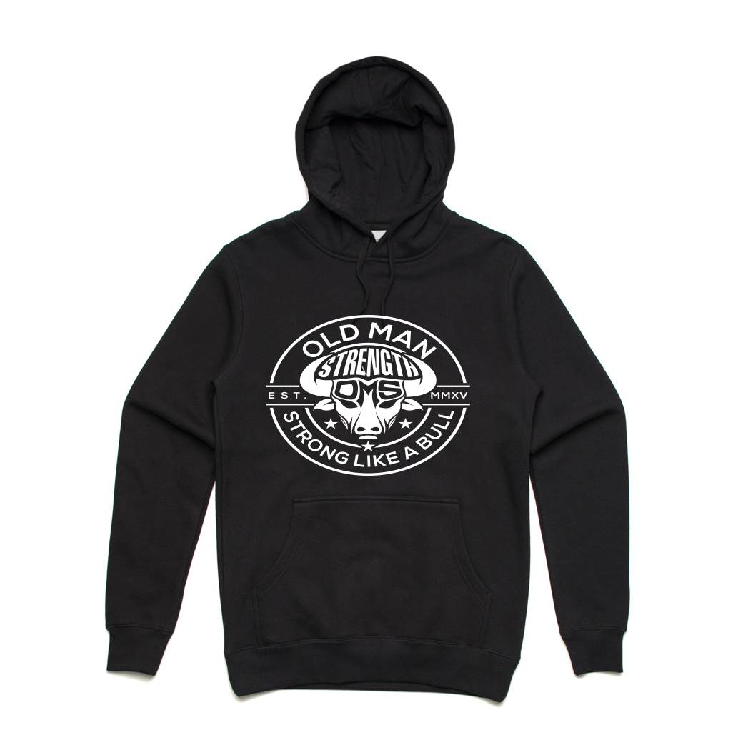 Old Man Strength Hoodie - The Stamp