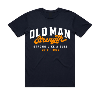 Old Man Strength T-shirt - Athletic