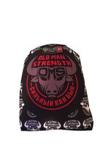 Old Man Strength Gi – The Black and Red