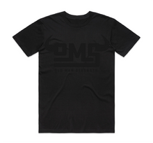 Old Man Strength T-shirt - Black on Black