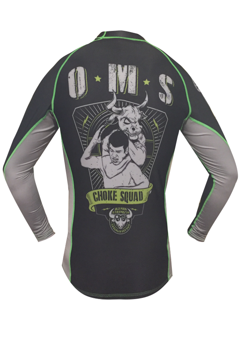 Choke Squad Rash Guard
